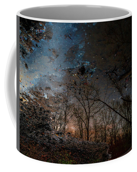 Reflection Coffee Mug featuring the photograph Dreamy Reflections by Christopher Wolford