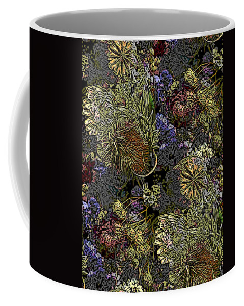 Dried Coffee Mug featuring the digital art Dried Delight by Tim Allen