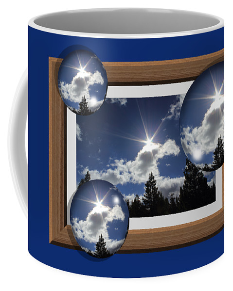 Bubble Coffee Mug featuring the photograph Drifting Away by Shane Bechler