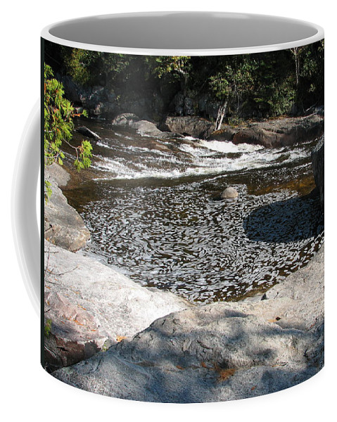 River Coffee Mug featuring the photograph Drifting Dreams by Kelly Mezzapelle