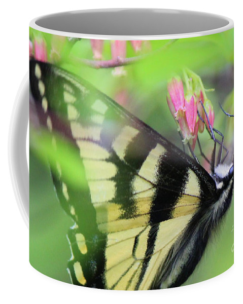 Coffee Mug featuring the photograph Drink Up by Hanni Stoklosa