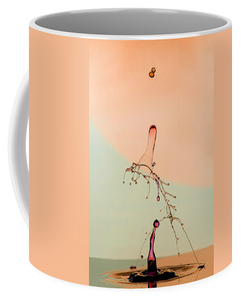 Abstract Coffee Mug featuring the photograph Droopy by Robert Storost