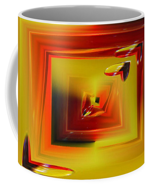 Droplets Coffee Mug featuring the photograph Droplets by Tim Allen