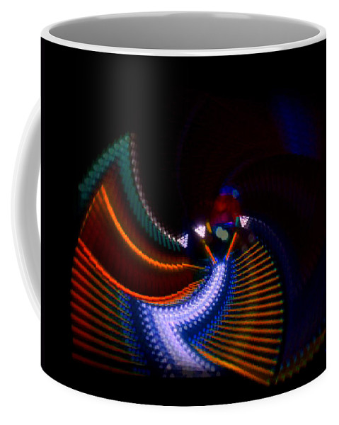 Chaos Coffee Mug featuring the photograph Drummer Dance by Charles Stuart