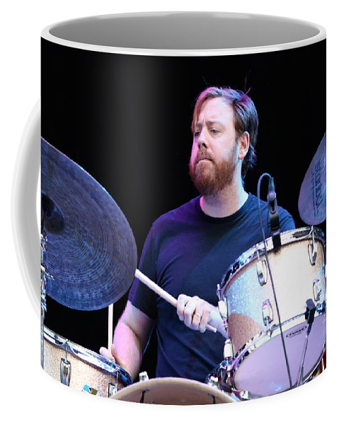 Drummer Coffee Mug featuring the photograph Joe Russo - Joe Russo's Almost Dead by Concert Photos