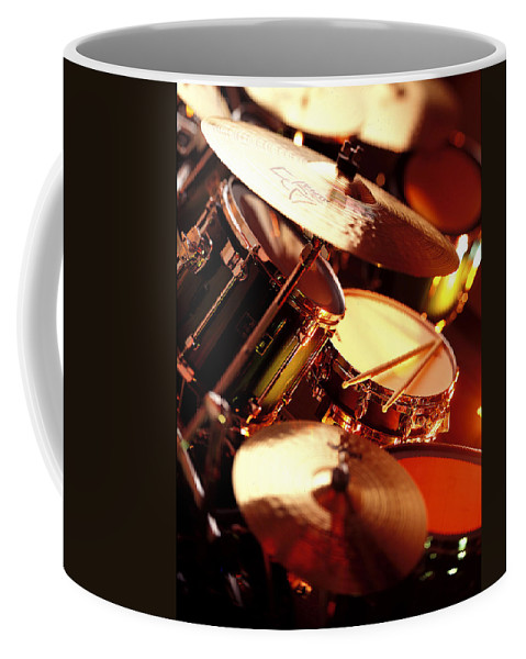 Drums Coffee Mug featuring the photograph Drums by Robert Ponzoni