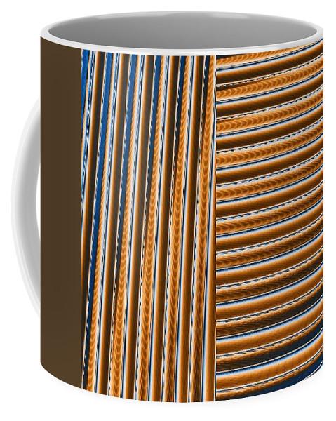 Digital Art Coffee Mug featuring the digital art Duality I by Dragica Micki Fortuna