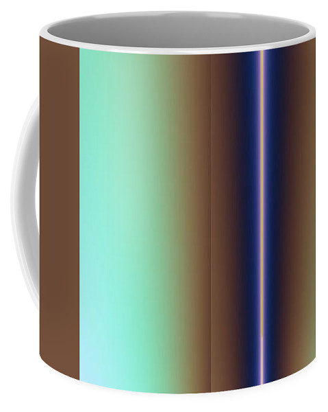 Digital Art Coffee Mug featuring the digital art Duality IIi by Dragica Micki Fortuna