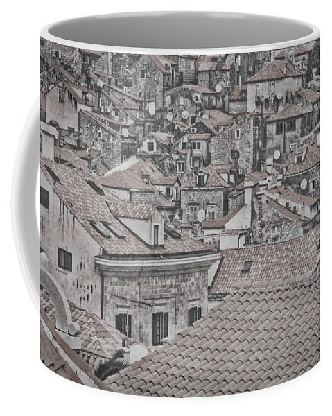 Dubrovnik Coffee Mug featuring the photograph Dubrovnik Rooftops #5 by Stuart Litoff