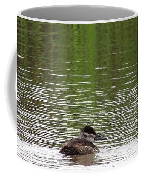 Duck Coffee Mug featuring the photograph Duck Blinds by Tammie Sisneros