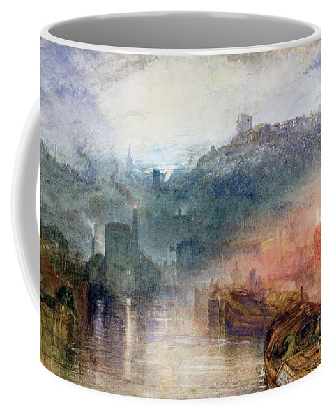 Dudley Coffee Mug featuring the painting Dudley by Joseph Mallord William Turner