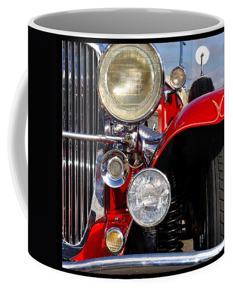 Car Coffee Mug featuring the photograph Duesenberg by Tim Nyberg