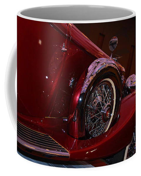 Cars Coffee Mug featuring the photograph Duesenberg Side View by Susanne Van Hulst