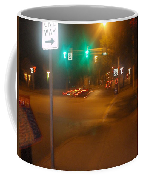 Photograph Coffee Mug featuring the photograph Duke And Chestnut by Thomas Valentine