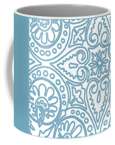 Whimsical Pattern Coffee Mug featuring the painting Dulce by Mindy Sommers