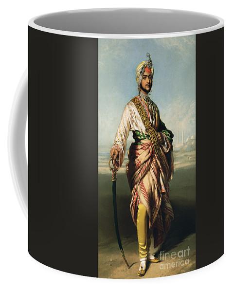 Winterhalter Coffee Mug featuring the painting Duleep Singh, Maharajah Of Lahore by Franz Xaver Winterhalter