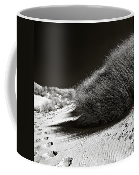 Dune Coffee Mug featuring the photograph Dune Grass by Dave Bowman