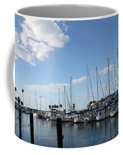 Dunedin Coffee Mug featuring the photograph Dunedin Marina I by Christiane Schulze Art And Photography