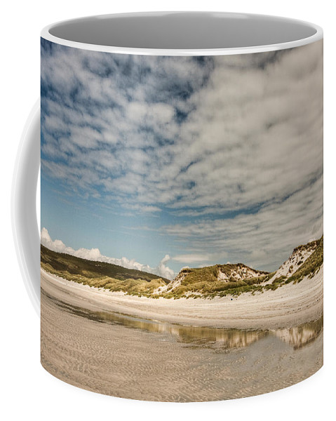 Scotland Coffee Mug featuring the photograph Dunes by Colette Panaioti