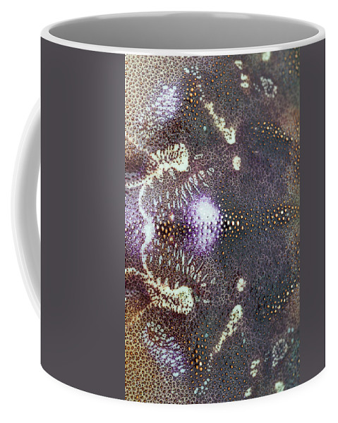 Absract Coffee Mug featuring the photograph Dungeness Crab Shell by Robert Potts