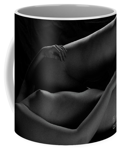 Bodyscape Body Scape Coffee Mug featuring the photograph Duo-bodyscape - 7 by Robert McAlpine