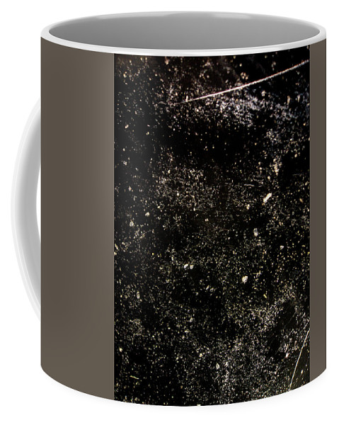 Rough Coffee Mug featuring the photograph Dusty Desk With Full Of Dust by Thitiwut Thitiprasert