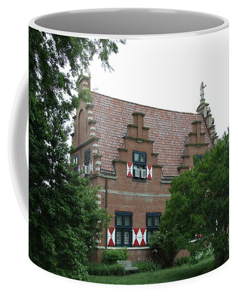 Dutch Coffee Mug featuring the photograph Dutch Building - Henlopen by Christiane Schulze Art And Photography