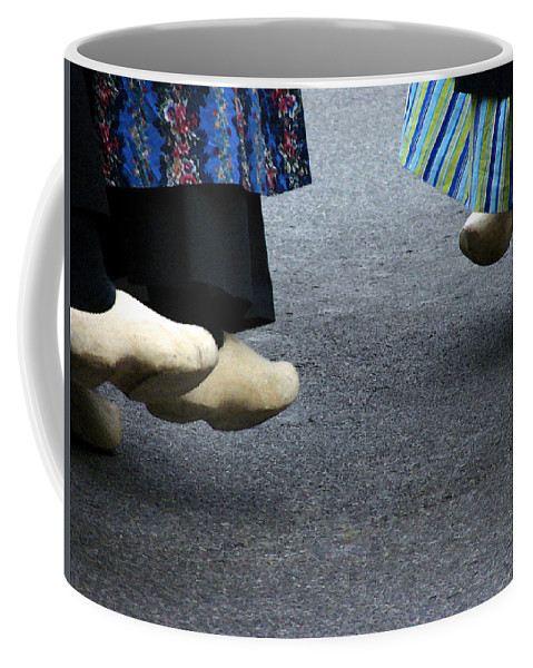 Dutch Coffee Mug featuring the photograph Dutch Dancers In Holland by Michelle Calkins