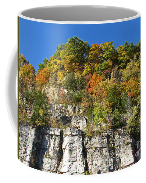Fall Coffee Mug featuring the digital art Eager For Autumn Colors by Adri Turner
