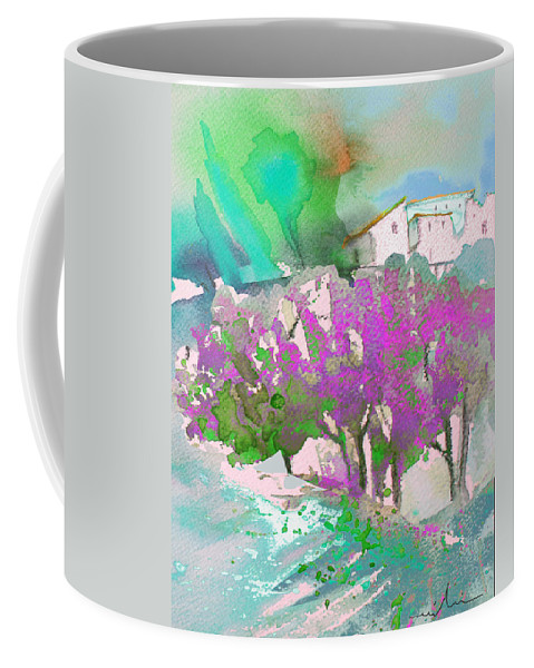 Watercolour Coffee Mug featuring the painting Early Afternoon 08 by Miki De Goodaboom