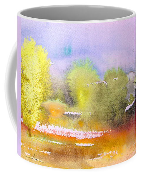 Watercolour Coffee Mug featuring the painting Early Morning 06 by Miki De Goodaboom