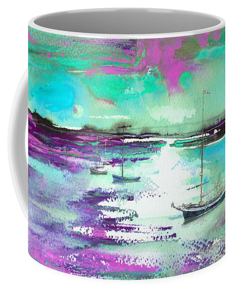 Landscapes Coffee Mug featuring the painting Early Morning 20 by Miki De Goodaboom
