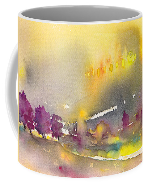 Landscapes Coffee Mug featuring the painting Early Morning 21 by Miki De Goodaboom