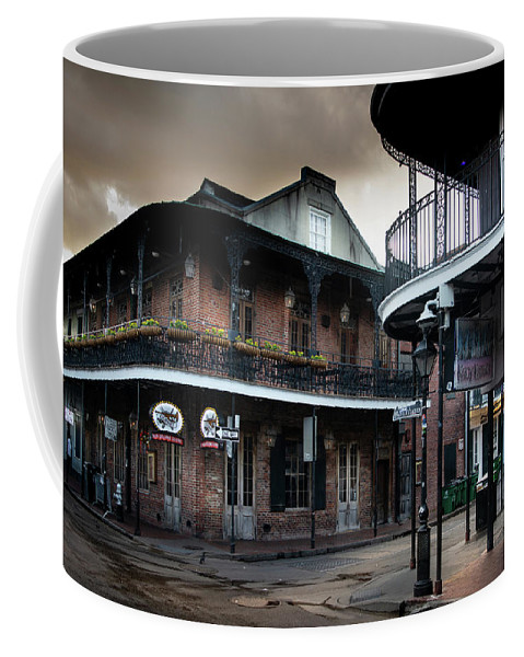 Fine Art New Orleans Coffee Mug featuring the photograph Early Morning At Cornet by Greg Mimbs