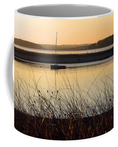 Sunrise Coffee Mug featuring the photograph Early Morning Haze by Bruce Gannon