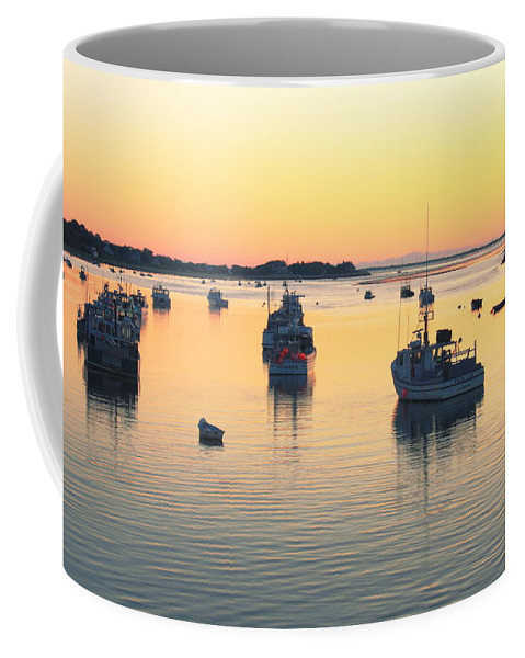 Chatham Coffee Mug featuring the photograph Early Morning In Chatham Harbor by Roupen Baker