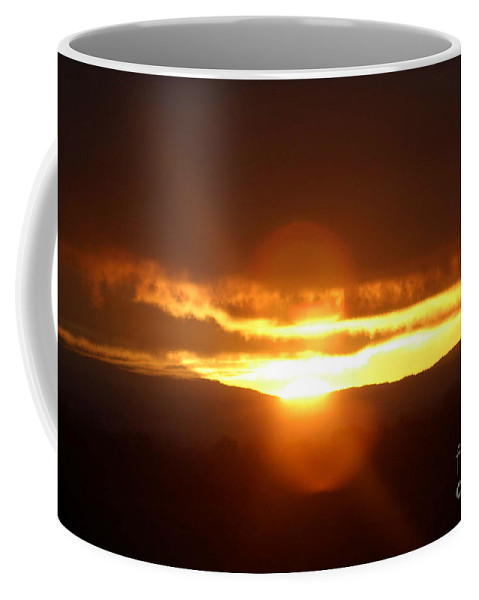 Sunrise Coffee Mug featuring the photograph Early Morning Sunrise by Melanie Rainey