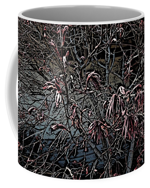 Digital Photography Coffee Mug featuring the digital art Early Spring Abstract by David Lane