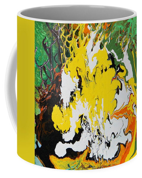 Fusionart Coffee Mug featuring the painting Earth by Ralph White