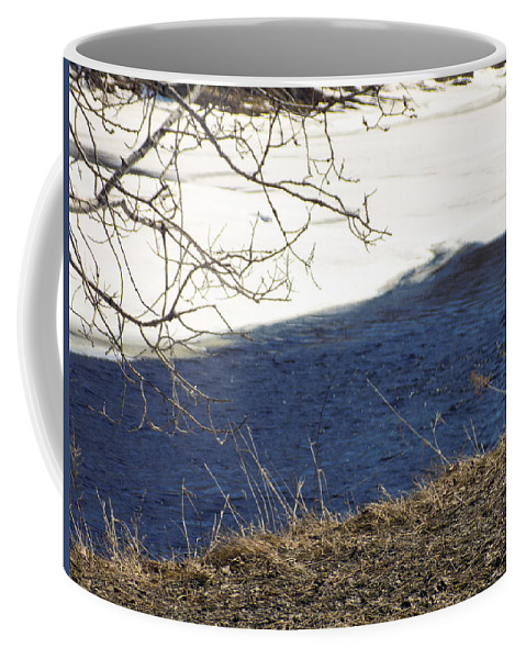 Earth Coffee Mug featuring the photograph Earth Water And Ice by William Tasker