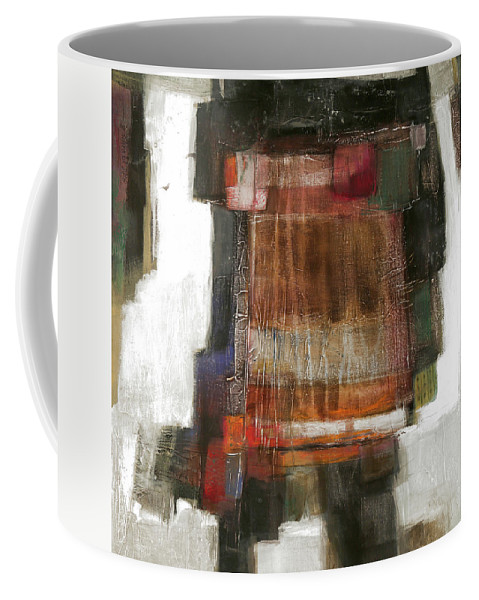 Sketching Coffee Mug featuring the painting Orange Home by Behzad Sohrabi