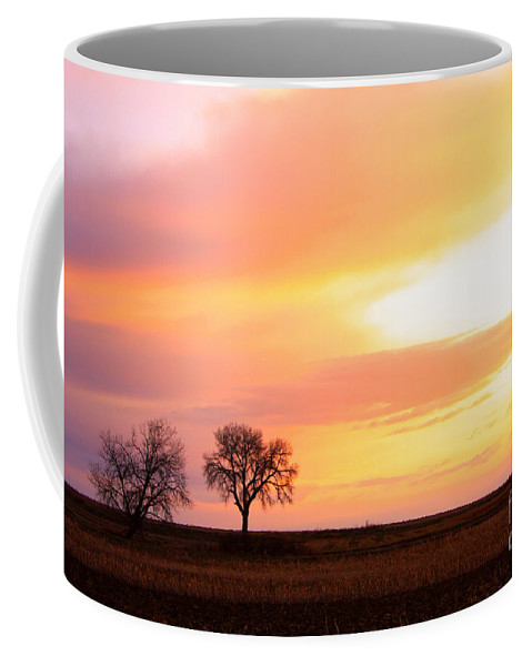 Sunrise Coffee Mug featuring the photograph Easter Morning Sunrise by James BO Insogna