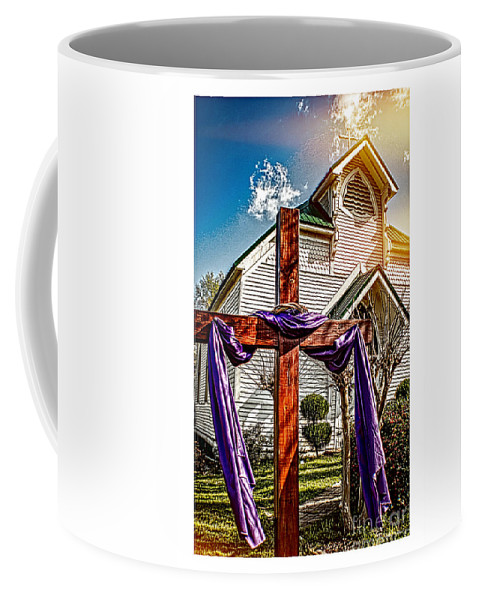 Easter Coffee Mug featuring the photograph Easter Morning by Tracy Brock