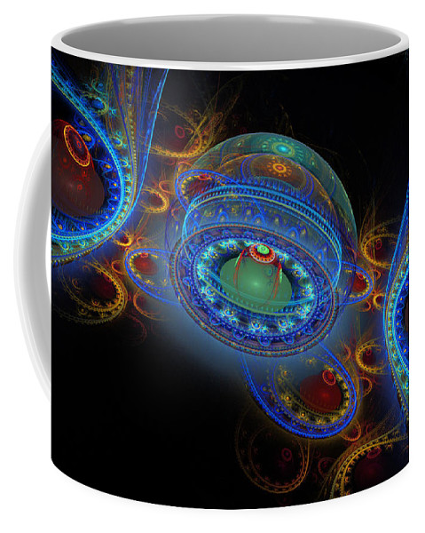 Phil Sadler Coffee Mug featuring the digital art Easter by Phil Sadler