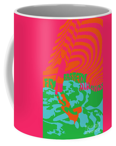 Eastern Coffee Mug featuring the photograph Eastern Airlines Surfer by Jost Houk