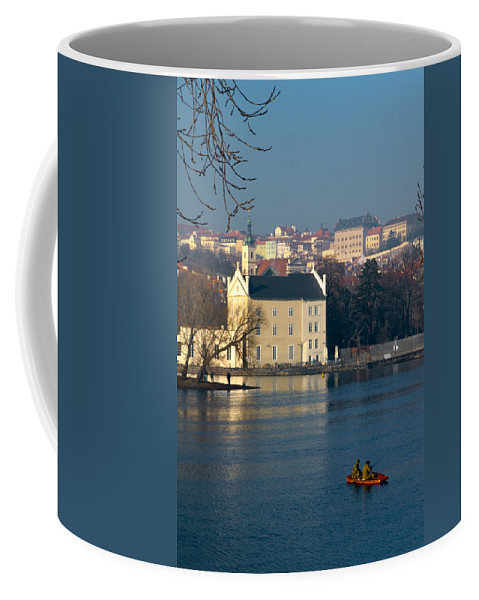 Lawrence Coffee Mug featuring the photograph Eastern European Fishing by Lawrence Boothby