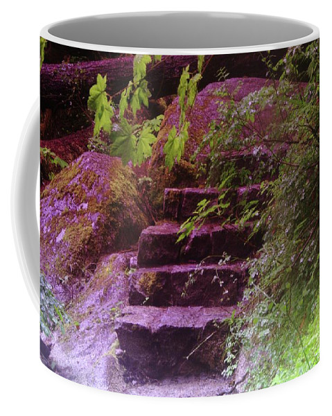 Stairs Coffee Mug featuring the photograph Easy Steps by Jeff Swan