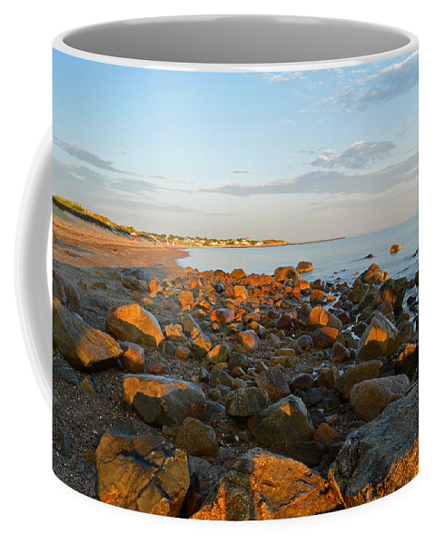 Cape Cod Bay Coffee Mug featuring the photograph Ebb Tide On Cape Cod Bay by Dianne Cowen
