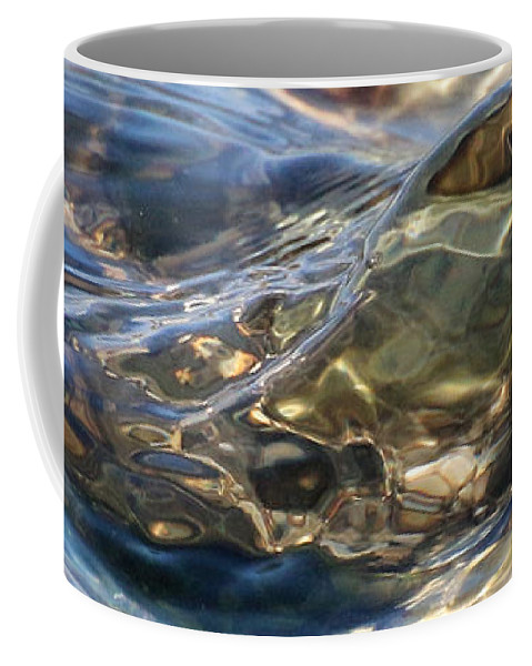 Abstract Coffee Mug featuring the photograph Ebbing Tide 1 by William Selander