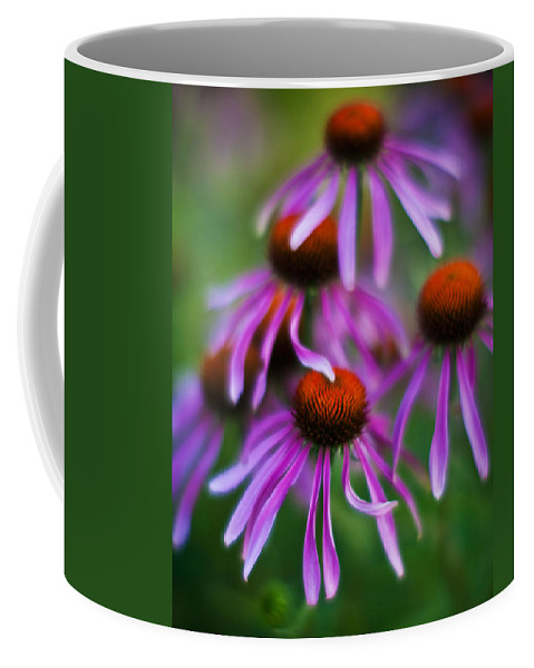 Echinacea Coffee Mug featuring the photograph Echinacea Crowd by Mike Reid